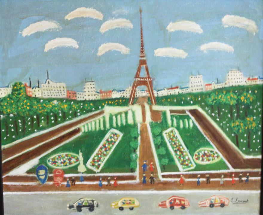 Eiffel Tower, LOUIS ERNOUT